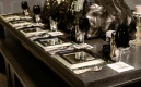 7.-day-5-finish-details_set-table-with-mirror-chargers,-black-plates-and-black-wine-glasses,-swarovski-covered-center-piece-